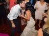 bride-and-groom-kiss-during-toledo-wedding-reception