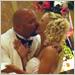 Bridal Kiss to Sounds of Premier Detroit Dance Band
