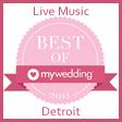 Detroit Wedding Bands Award My Wedding Best of 2015