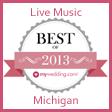 Michgan Wedding Bands Award My Wedding Best of 2013