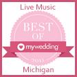 Michigan Wedding Bands Award My Wedding Best of 2015